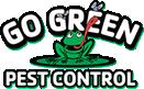 Go Green Pest Control Logo