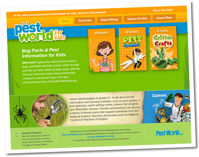 Pest World for Kids